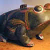 Carved wood Toad / Frog