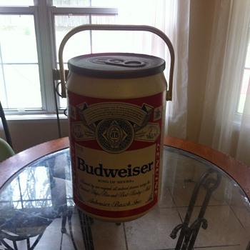 Budweiser cooler - Breweriana