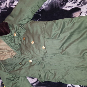 foreign military jacket...is it real military? very warm and nice - Mens Clothing