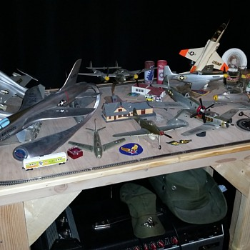 plane model collection from northrop corporation - Military and Wartime