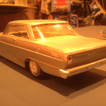 Chevrolet Nova coupe by AMT... - Model Cars
