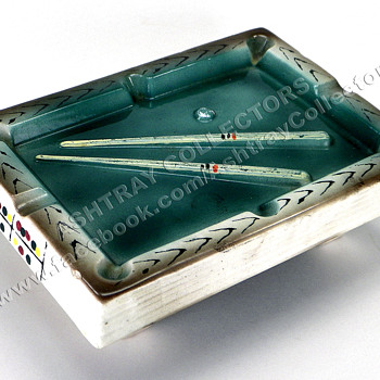Taiwan Pool Table Ashtray - Tobacciana