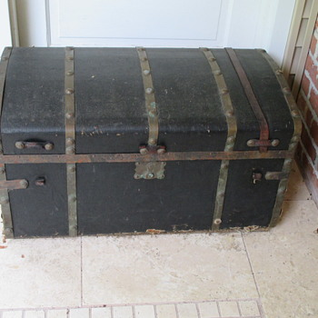 Brass Band Jenny Lind Trunk  - Furniture