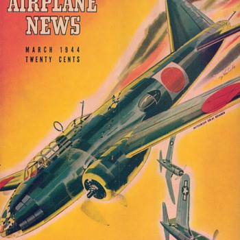 1944 - Model Airplane News magazine - March