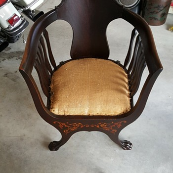 Our early American chair - Furniture