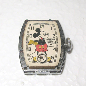 1938 Mickey Mouse Wristwatchs.