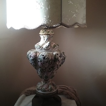 Old lamp of grandma.
