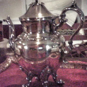 Silver Coffee Pot - Sterling Silver