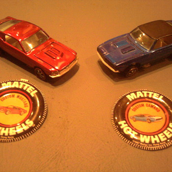 The Hot Wheels Mustang and Camaro started it all.  Today the real ones still battle it out as rivals.
