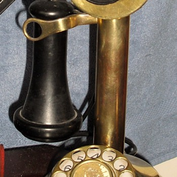Candlestick Phone/ Lamp - Telephones