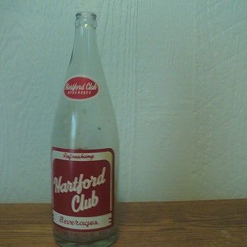 Hartford Club Beverages - Bottles