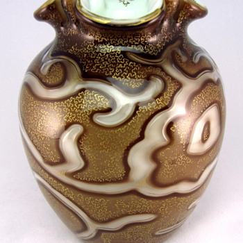 Loetz Federzeichnung Decor Vase (Octopus) - Art Glass