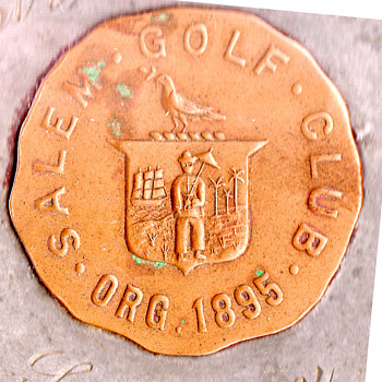 Salem Golf Club logo 1904 clipper ship? - Sporting Goods