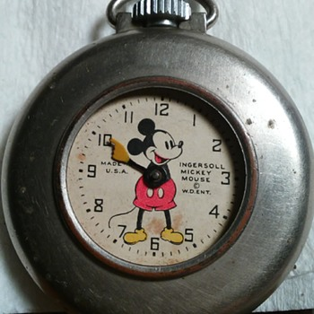 mickey mouse lapel watch ?