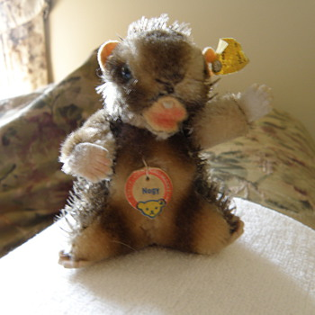 Steiff Beaver  &quot;Nagy&quot;   - Dolls