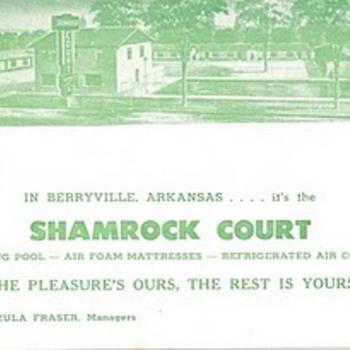 Berryville, AR - Postcards