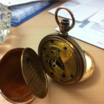A Friends Time Piece-Elgin Pocket Watch - Pocket Watches