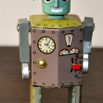 Vintage Robotman - Toys