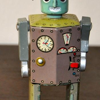 Vintage Robotman - Toys