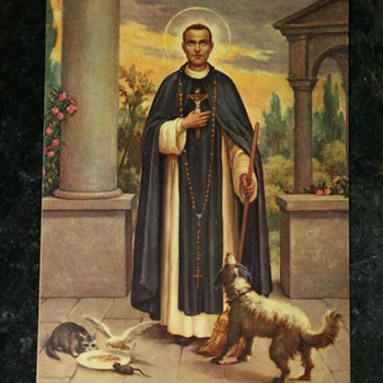 My favorite saint - Saint Martin de Porres - the original Dog Whisperer! - Posters and Prints