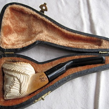 Meerschaum Pipe With Case