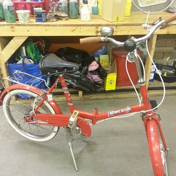 Universal 1986 folding bicycle - Sporting Goods