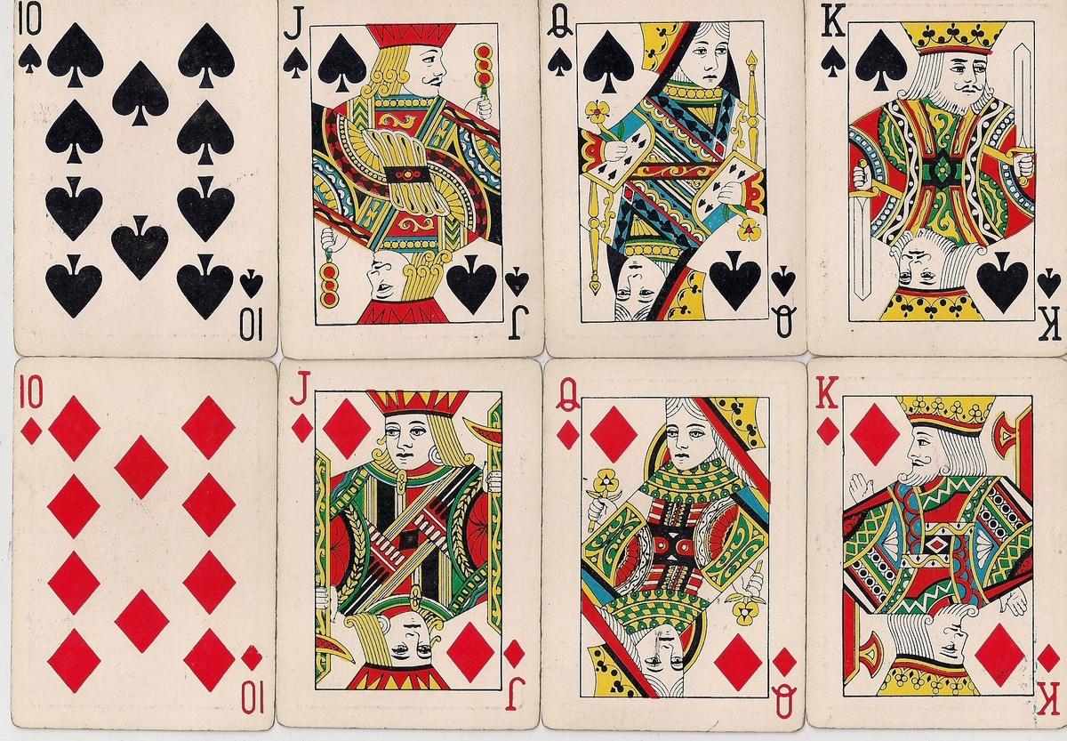 Как сделать игральные карты своими руками 84