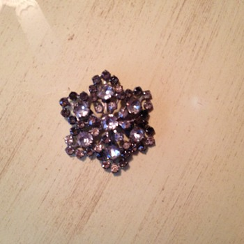 Old brooch - Costume Jewelry