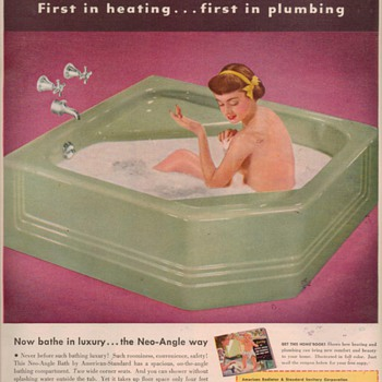 1950 American Standard Advertisements