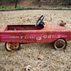 Fire chief, pedal car