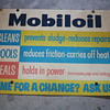 mobil oil sign and lubrication disc chart