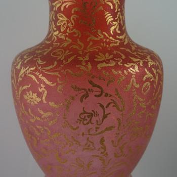 Rare Loetz Orientalism Vase, PN I-3282, Makart decor IV/103, ca. 1892 - Art Glass