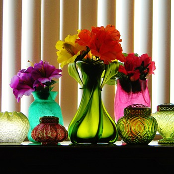 Bohemian Fantasy in Colours for Summer!  - Art Glass