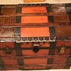Re-finished 1880s trunk