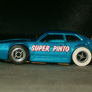 1/64TH TYCO PRO SUPER PINTO RARE METALLIC BLUE!