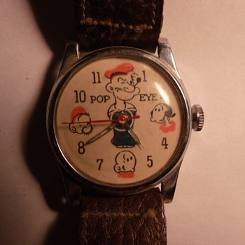 1949 Canadian Variant Popeye Wrist Watch - Wristwatches