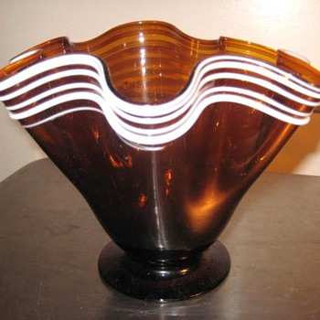 Clevenger Bros. Glass works VASE? - Art Glass