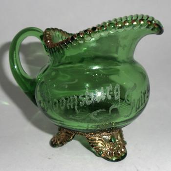 Bloomsburg Fair 1913 Souvenir Creamer - Glassware