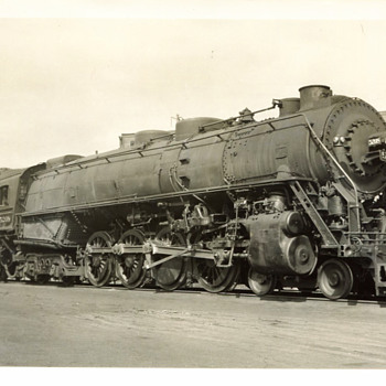 Lehigh Valley RR Steam Locomotives - Railroadiana