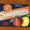 (NOS) New Old Stock - Stadelman&#039;s Apples Fruit Crate Label 