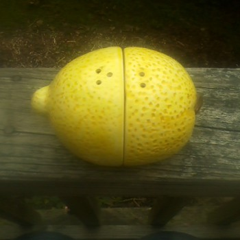 Lemon Salt &amp; Pepper Shaker