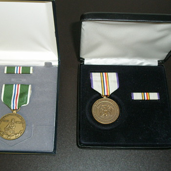 Commemorative Medals and Ribbons - Military and Wartime
