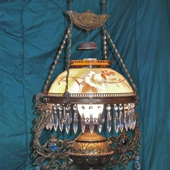 Old Railroad Lamp? - Lamps