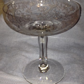 1920's Fostoria Glass?