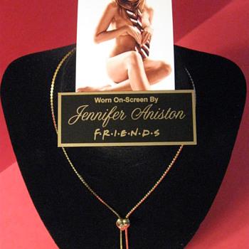 JENNIFER ANISTON  .  .  . 'Necklace'