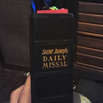 saint Joseph daily missal 1964 - Books