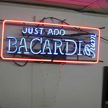 bar sign from the 70s - Signs