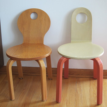 Children&#039;s Bentwood Chairs