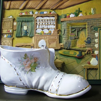 My Large Boot - Art Pottery