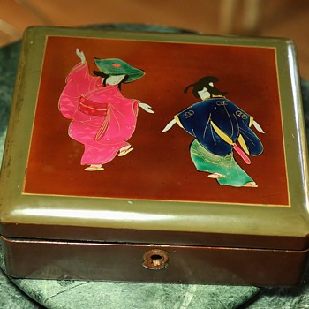 Japanese Laquer Box - Asian
